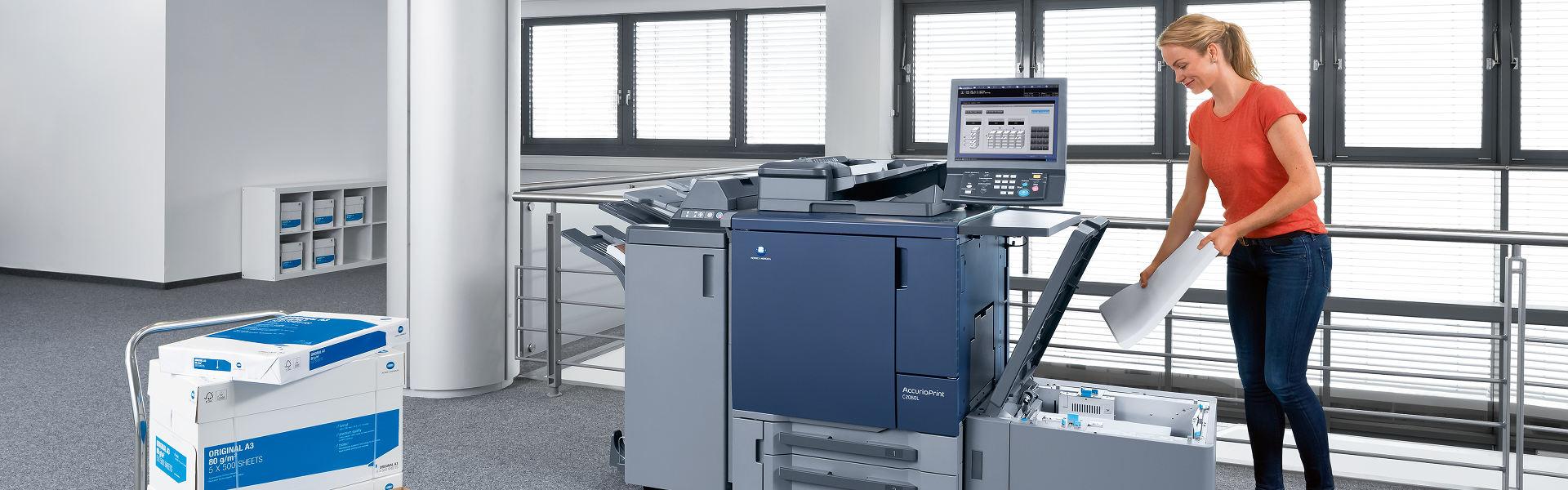 Prodej produkčních tiskáren: