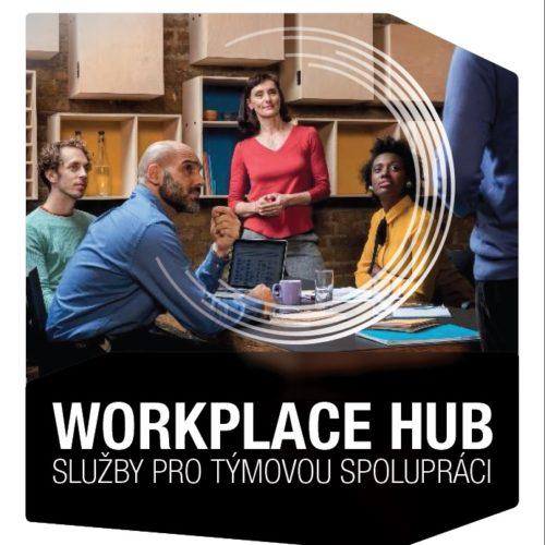 Workplace Hub, týmová spolupráce